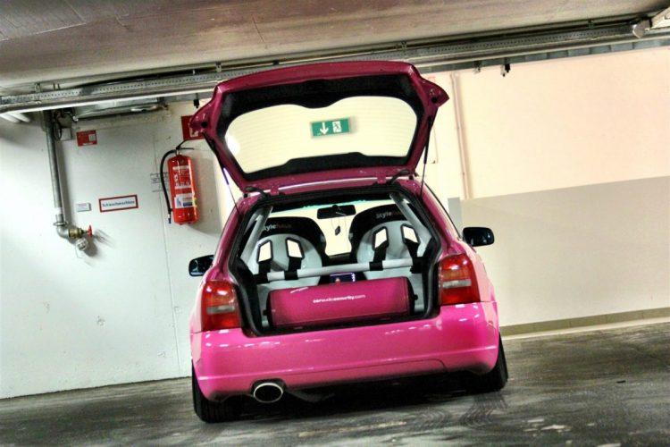 Audi S4 – tief, breit, pink Bild 3