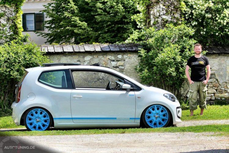 Der dänische VW Up Bild 1