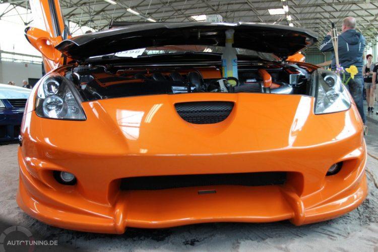 Frontansicht des Toyota Celica