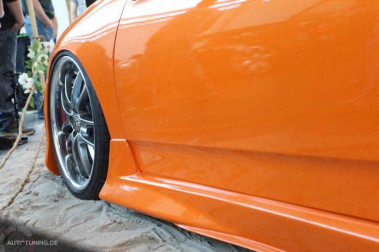 Airride mit bündiger Karosserie beim Toyota Celica