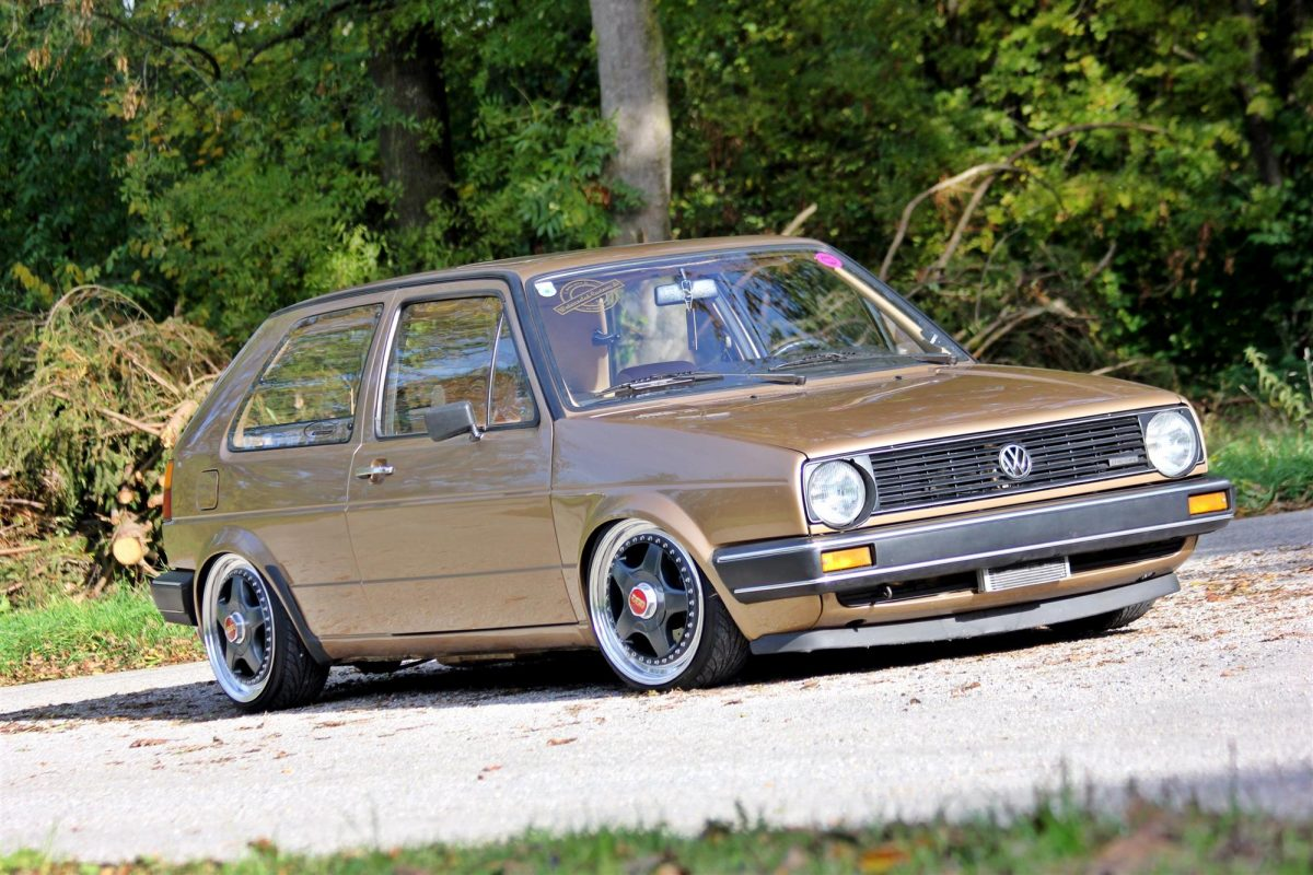 vw golf ii 16v turbo im oldschool look. Black Bedroom Furniture Sets. Home Design Ideas