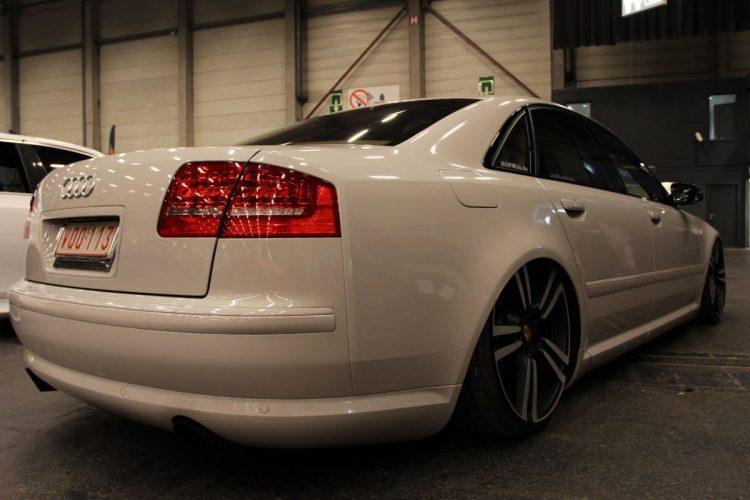 Audi A8 im VIP-Style Heck