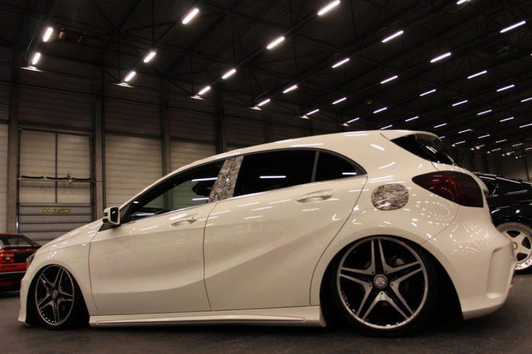 Mercedes-Benz A-Klasse Stickerbomb Seite