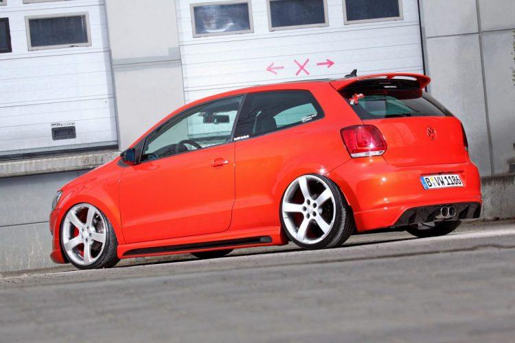 VW Polo Hifi-Ausbau aussen