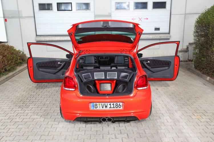 VW Polo Hifi-Ausbau Heck
