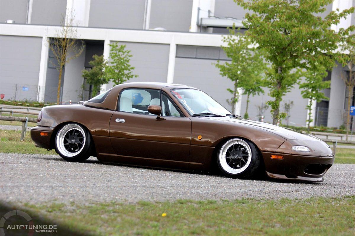 Mazda Mx 5 Ultraflacher Roadster Im Stance Look