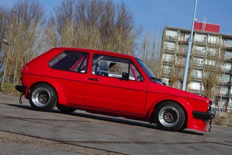 VW Golf MK1 Bergrennen17