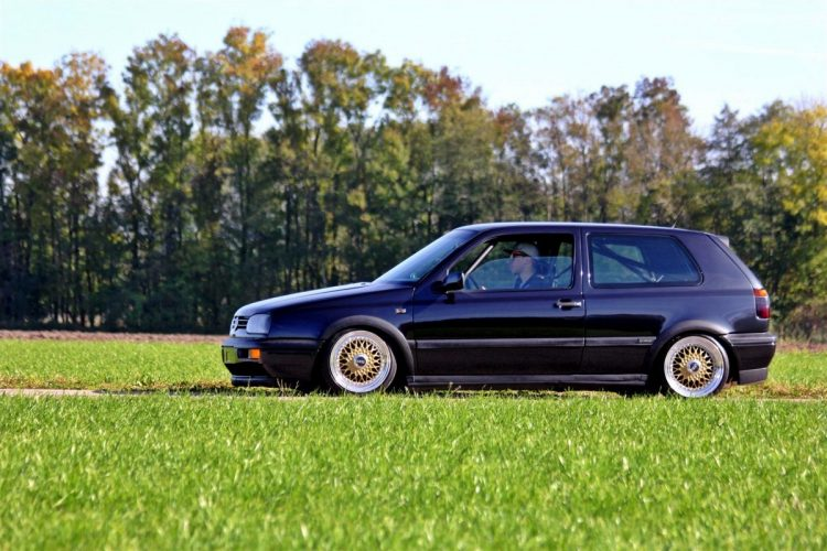 Low Budget Golf VW Golf 3 BBS Tuning - 28