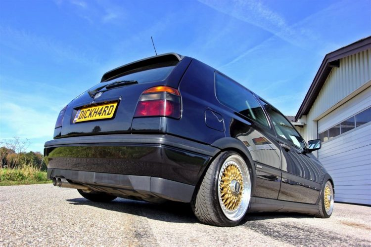 Low Budget Golf VW Golf 3 BBS Tuning - 33
