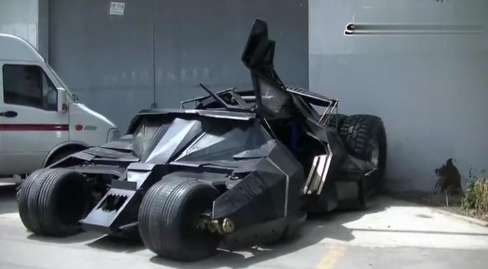 Batmobil Replica Tumbler