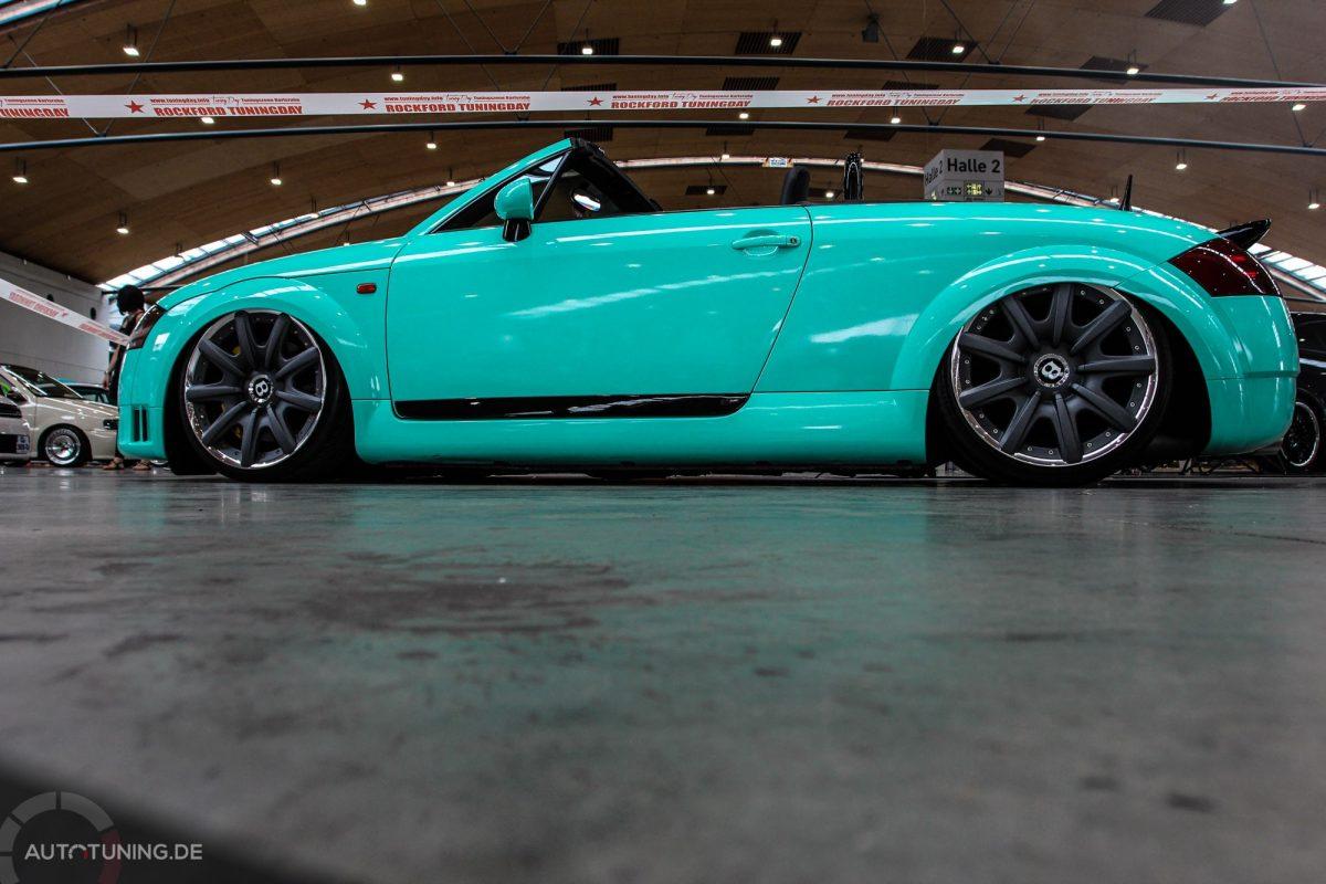 Audi Tt Roadster Fetter Cruiser Mit Dampf