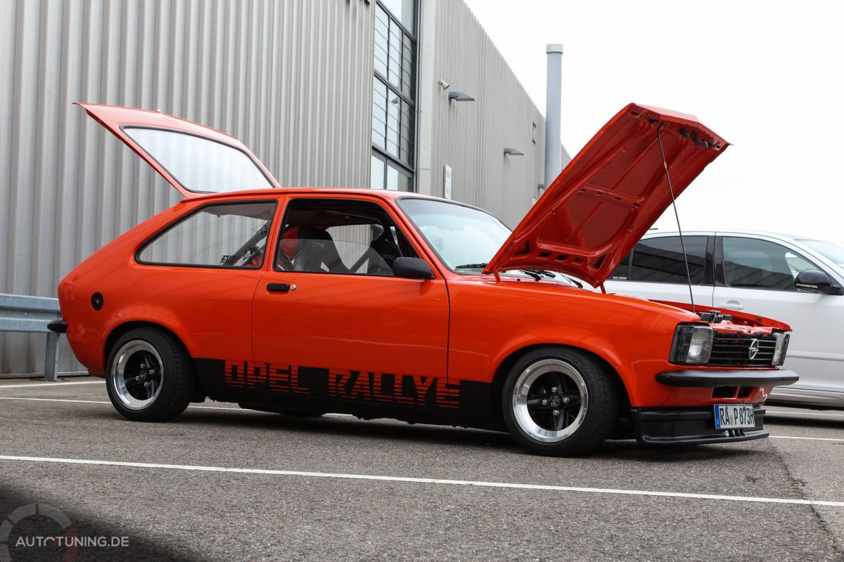 Opel Kadett C City Performance In Orange Autotuning De