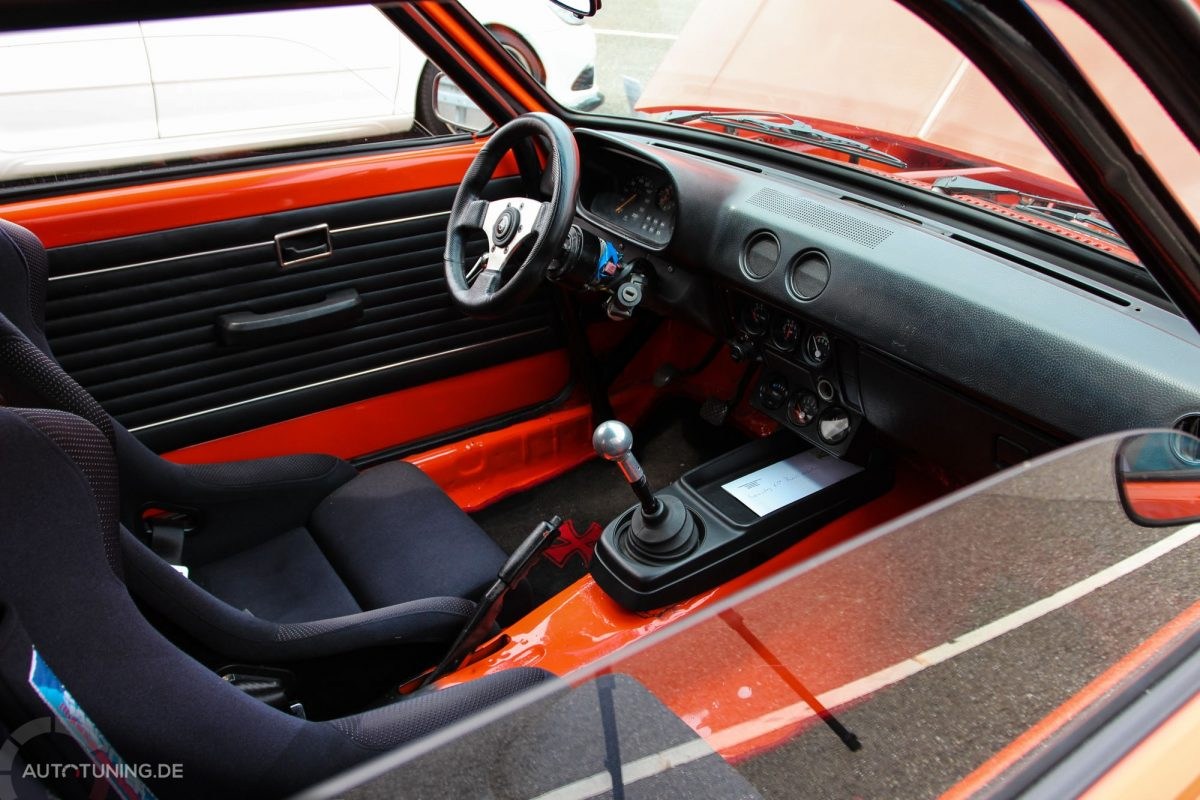 opel kadett c city performance in orange autotuning de. Black Bedroom Furniture Sets. Home Design Ideas