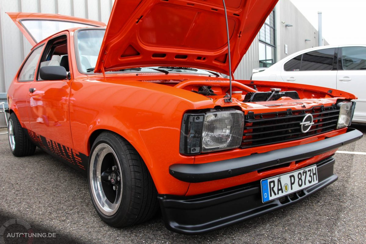 Opel Kadett C City Performance In Orange Autotuning De