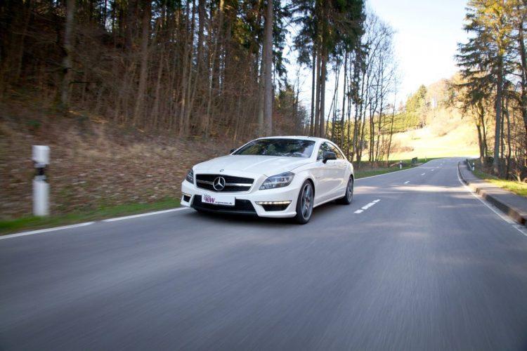 Höhenverstellbare Tieferlegungsfedern für den Mercedes-Benz CLS 63 AMG 4MATIC