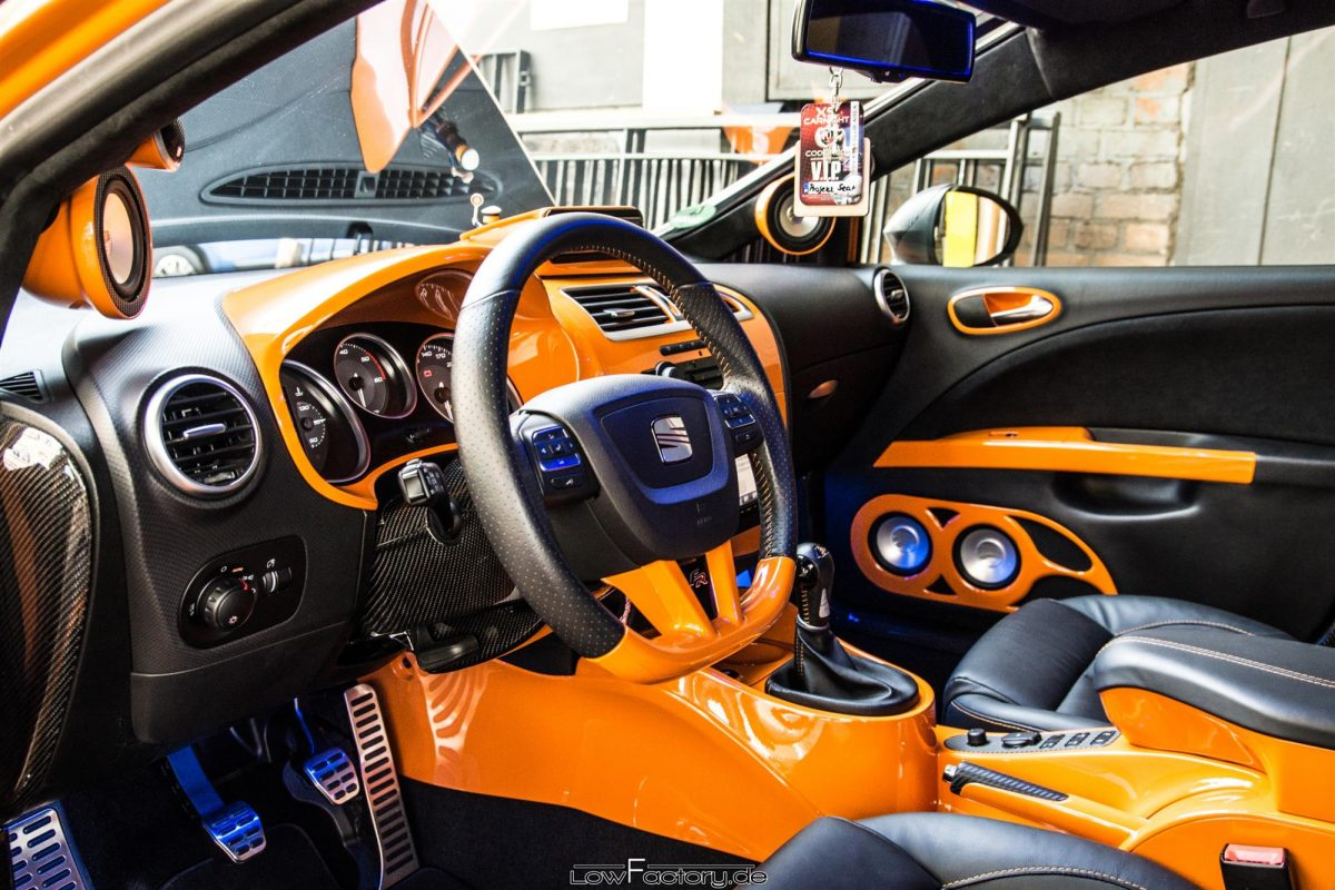 Seat Leon: Der rollende Hotspot - AUTOTUNING.DE