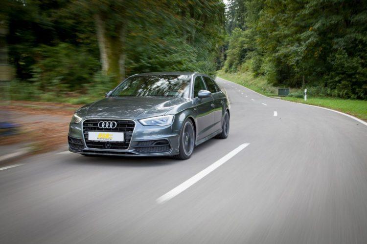 Die Sportfedern von ST suspensions sind für die meisten Audi A3 Modelle verfügbar.