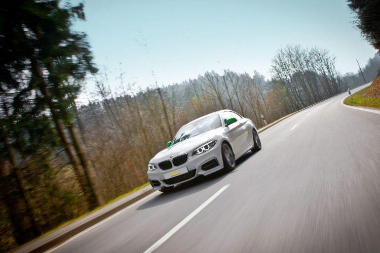 Auch die Sportlichkeit der BMW 2er Serie lässt sich damit erhlhen.