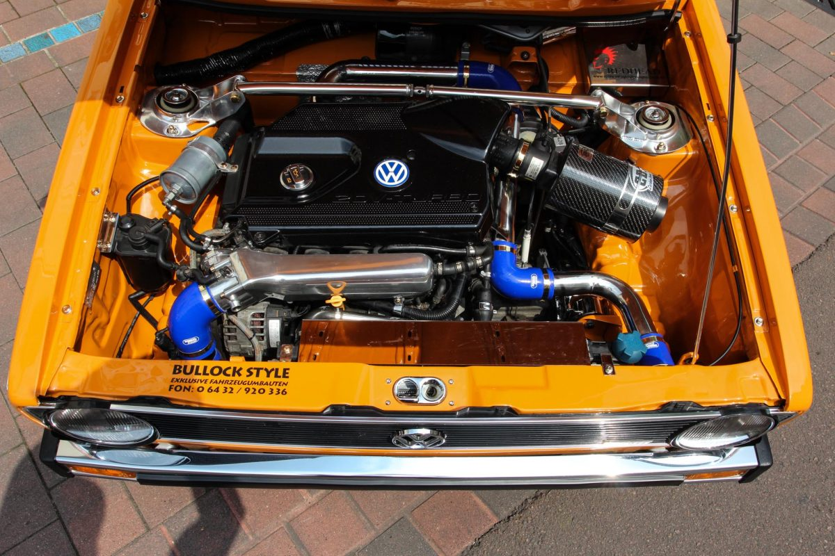VW Golf Mk1 1,8T - Wolf im Klassikerpelz - AUTOTUNING.DE