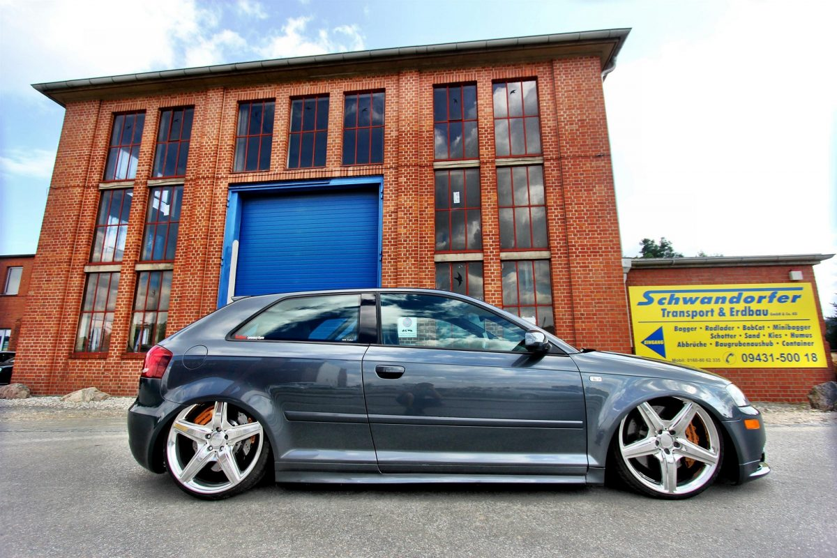 Audi A3 Hatchback Im Amg Trim Autotuning De