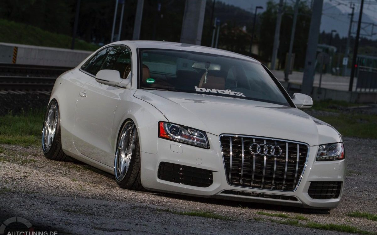 Audi A5 Coupe Stance -6