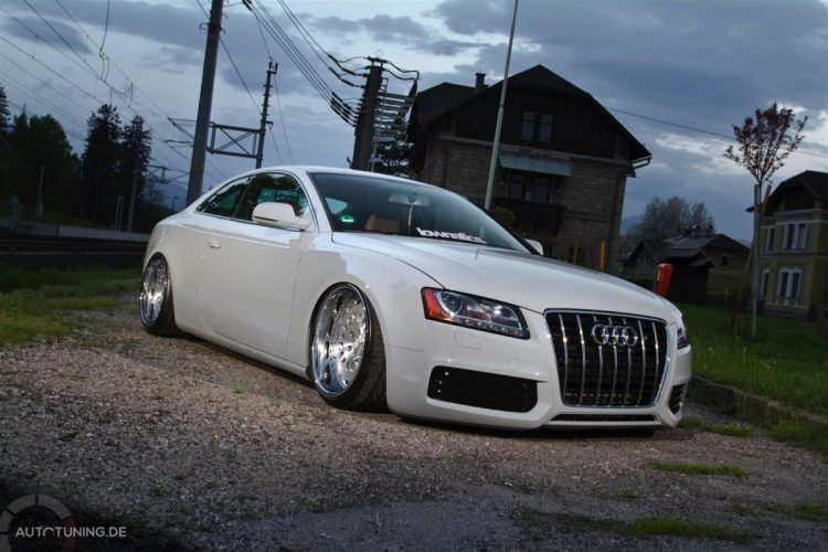 Audi A5 Coupe Stance -7