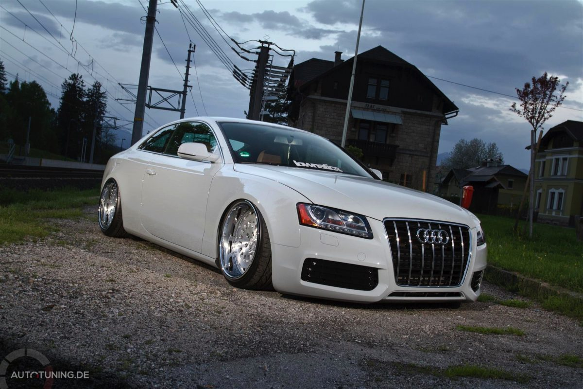 Audi A5 Coupe Stanced Look Im Gentleman Style
