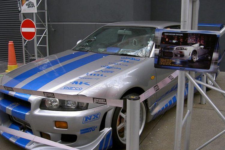 Filmautos Skyline-GTR-R34
