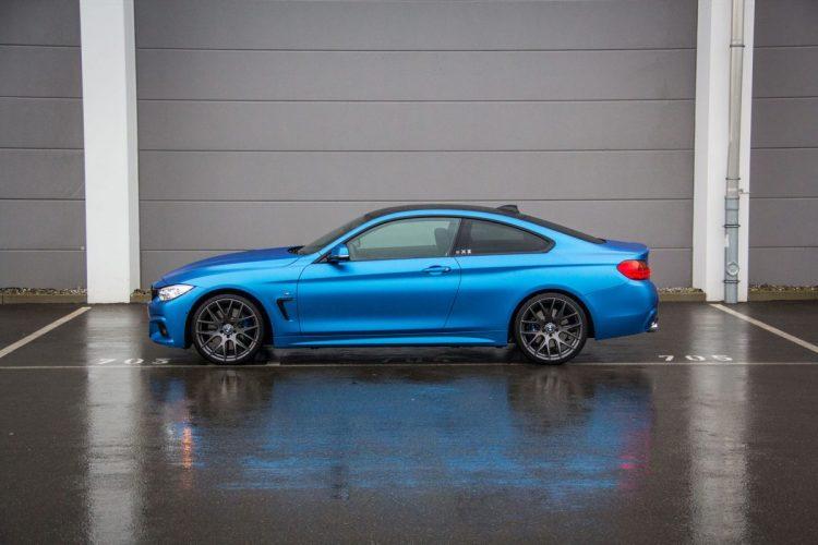 Das BMW 4er Coupé F32 mit neuem Räderwerk