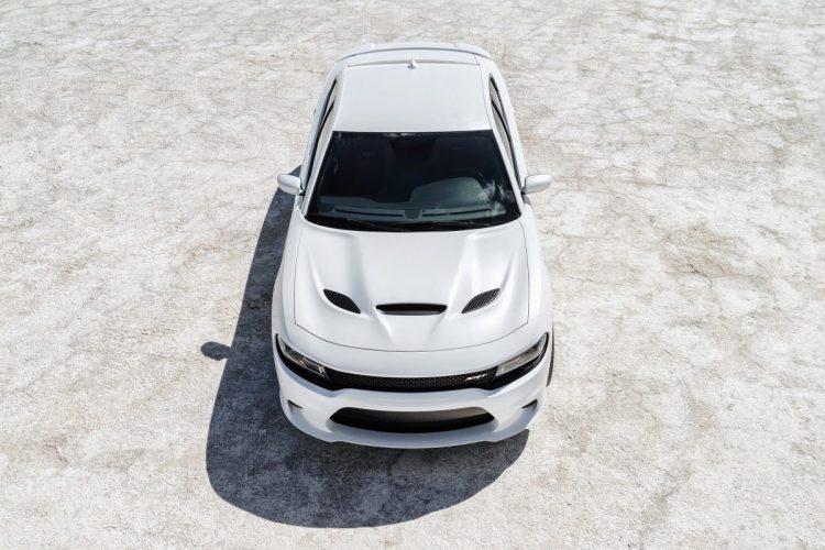 Markante Hutze: Der Kompressor des Dodge Charger SRT Hellcat braucht viel Atemluft