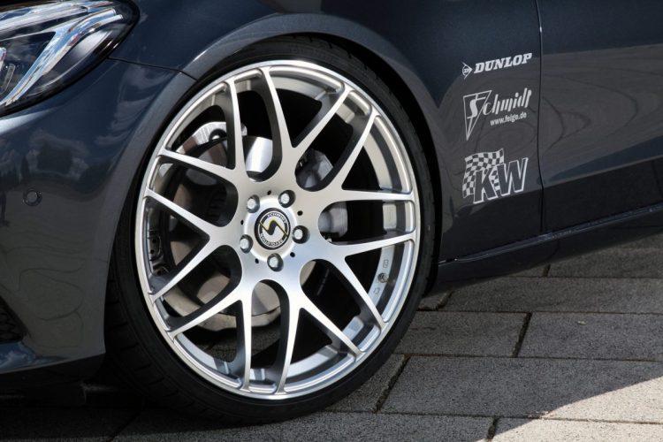 Neue Gambit-Felgen von Schmidt Revolution für den Mercedes C220 W205