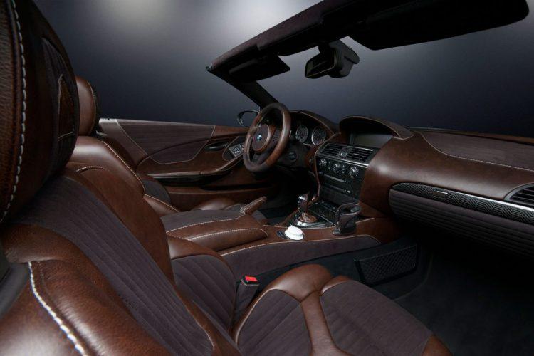 Noblesse im Innenraum: Der BMW M6 Stormtrooper kann auch anders