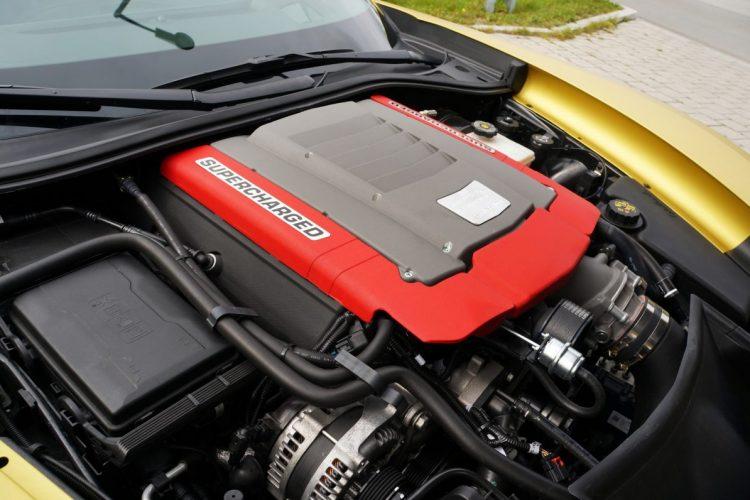 Potentes Triebwerk: Der 6.2-V8-Motor Geiger Cars Corvette C7 Stingray holt mehr als nur Serienleistung aus sich heraus