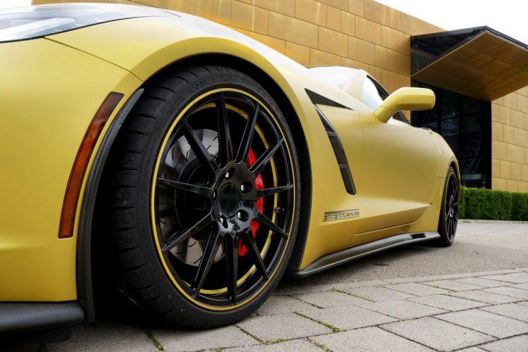 Neues Räderwerk: Die Geiger Cars Corvette C7 Stingray verliert dezent an Gewicht