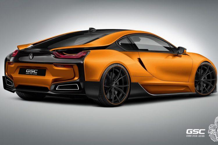 Sattes Räderwerk: Der BMW i8 iTRON freut sich über Niederquerschnitt-Bereifung und großzügige Felgen