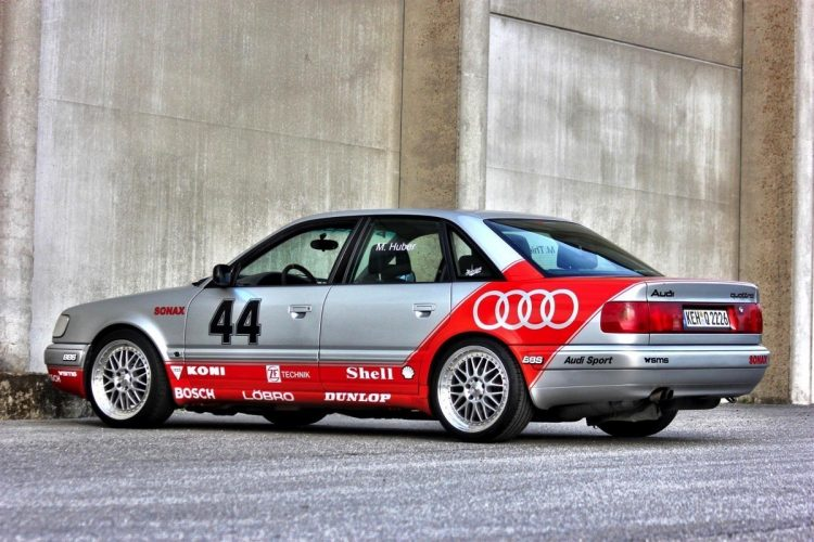 Audi S4 C4 Im Look Der V8 Dtm Boliden Alla Striezel Stuck