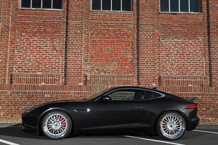 Knackig und dynamisch: Das Jaguar F-Type Coupé mit 21-Zoll-Schmidt-Felgen
