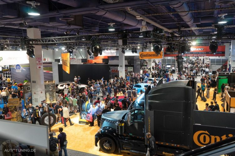 Über 100.000 Besucher konnte die SEMA Las Vegas 2014 verzeichnen