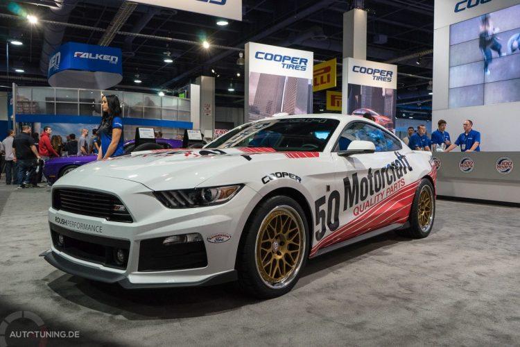 """Alle Jahre wieder: Der Ford Mustang durfte sich (zumindest in der Serienausführung) über einen Award als """"Hottest Car"""" auf der SEMA Las Vegas 2014 freuen"""