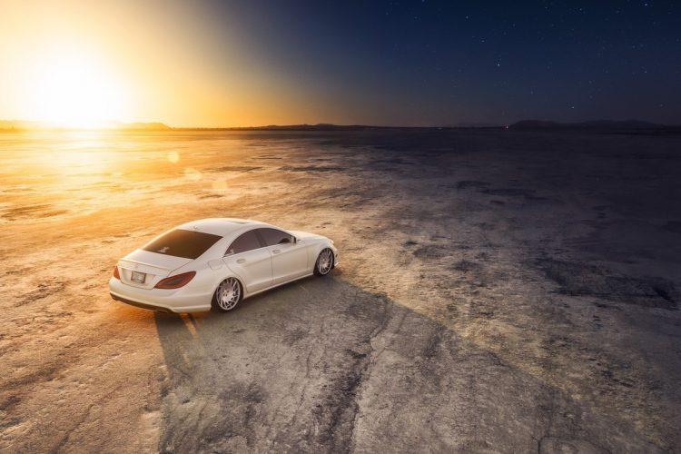 Scheint deutliche Automobile zu bevorzugen: Das Rad Vossen VLE-1