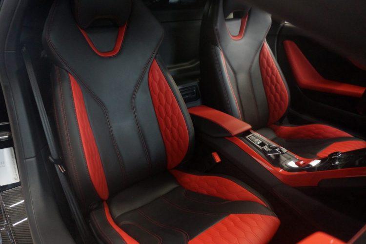 Da bleiben keine Wünsche offen: Die Sitzbezüge à la Mansory können sich im Lamborghini Hurácan mehr als nur sehen lassen.