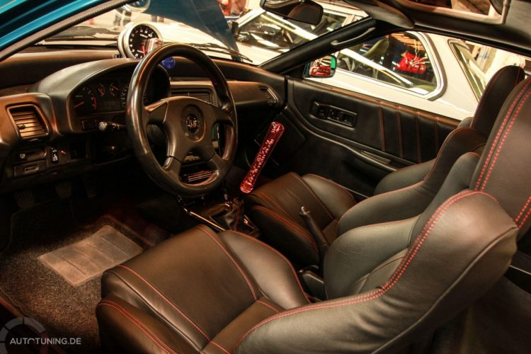 Innenleben des Honda CRX