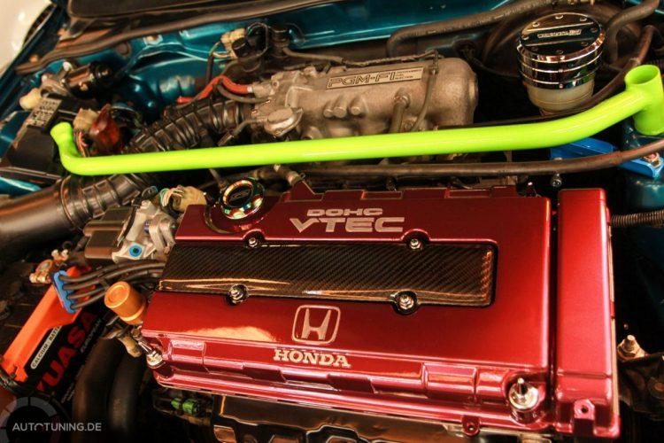Honda CRX Motor mit VTEC