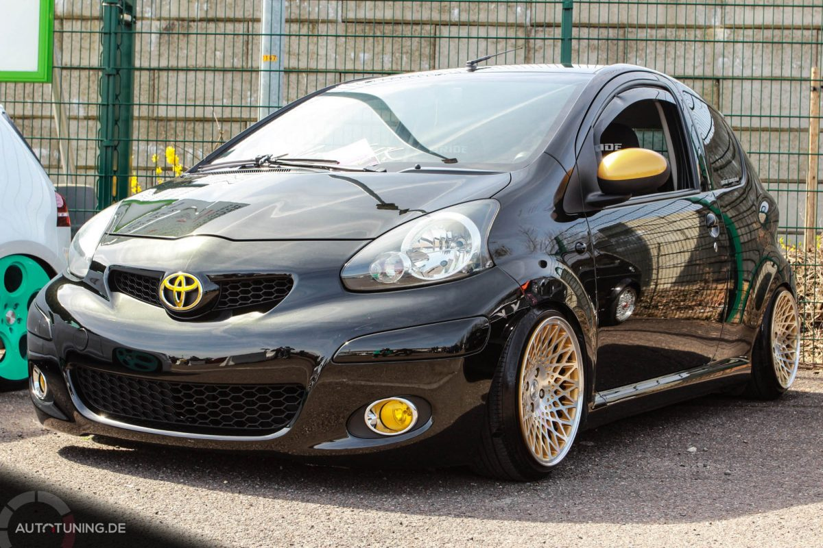 Der Coolste Toyota Aygo Den Es Gibt Autotuning De