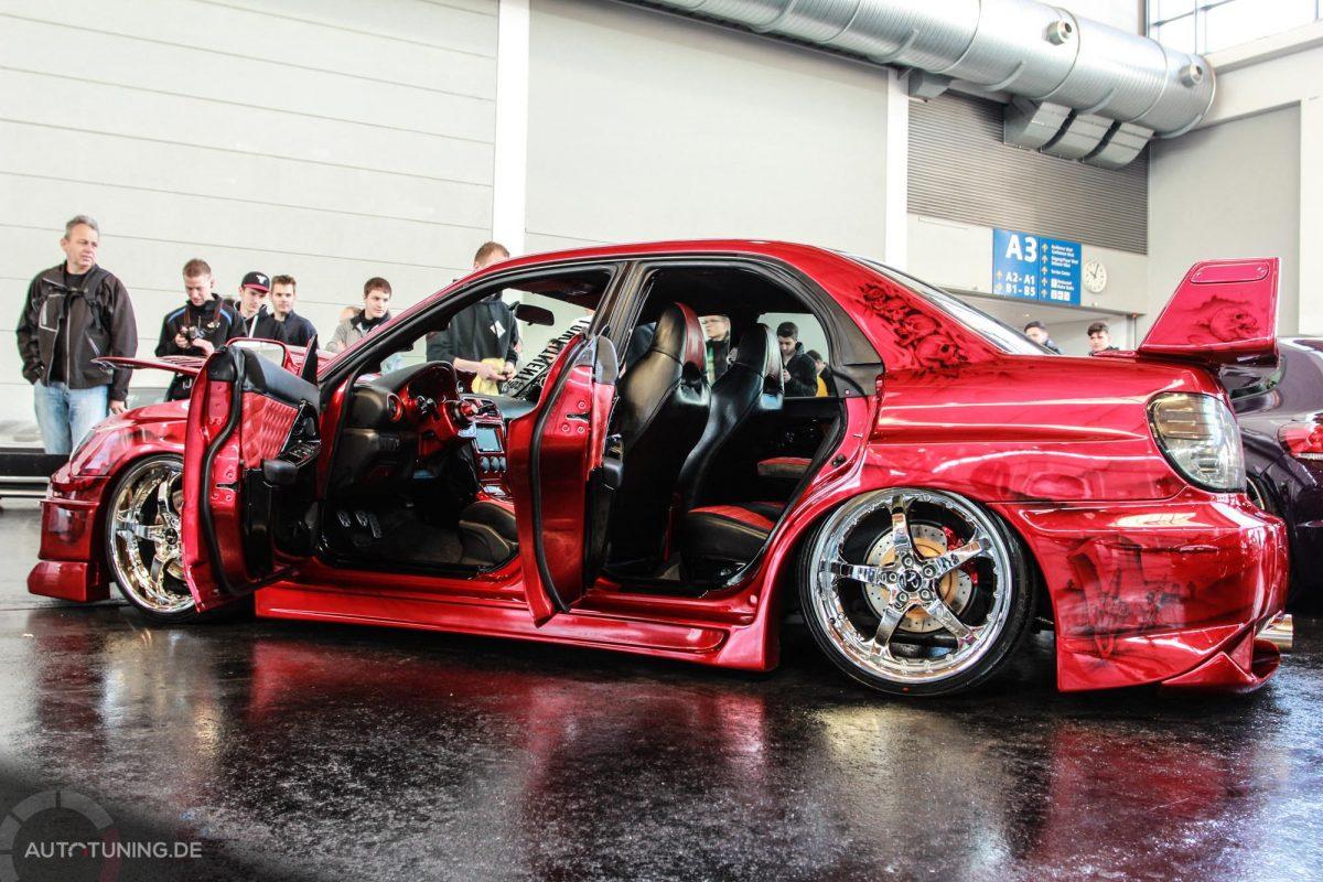 Das Styling Motto Dieses Subaru Impreza Wrx Sti Be