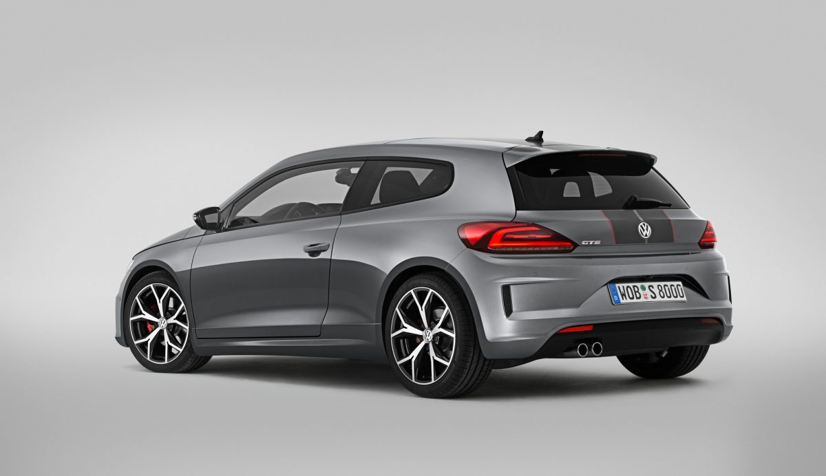 vw scirocco gts facelift 2015 mit 220 pferden. Black Bedroom Furniture Sets. Home Design Ideas