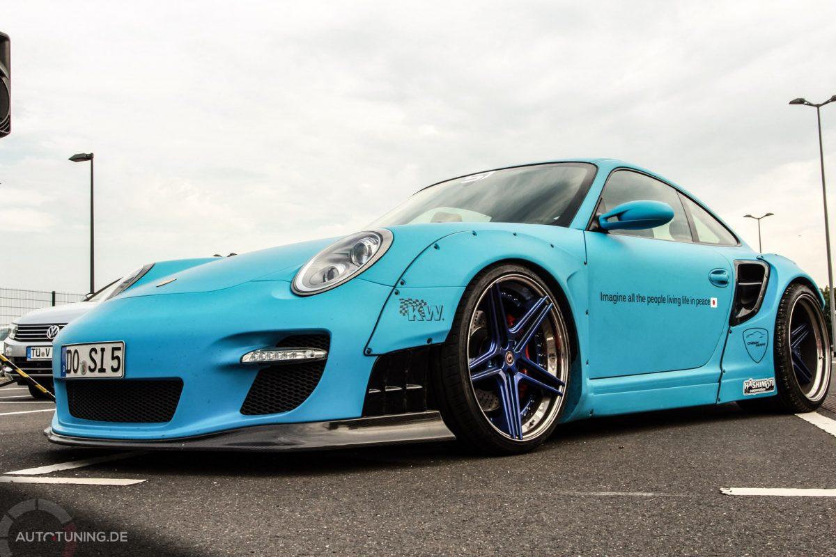 Sidney Hoffmanns Porsche 911 Turbo Champion Of Liberty
