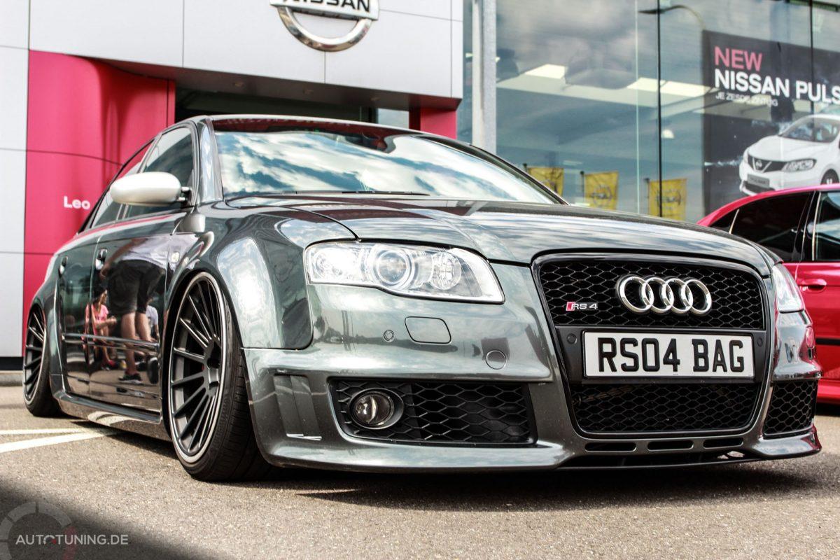 Bei Diesem Audi Rs4 Ist Tief Luft Holen Angesagt