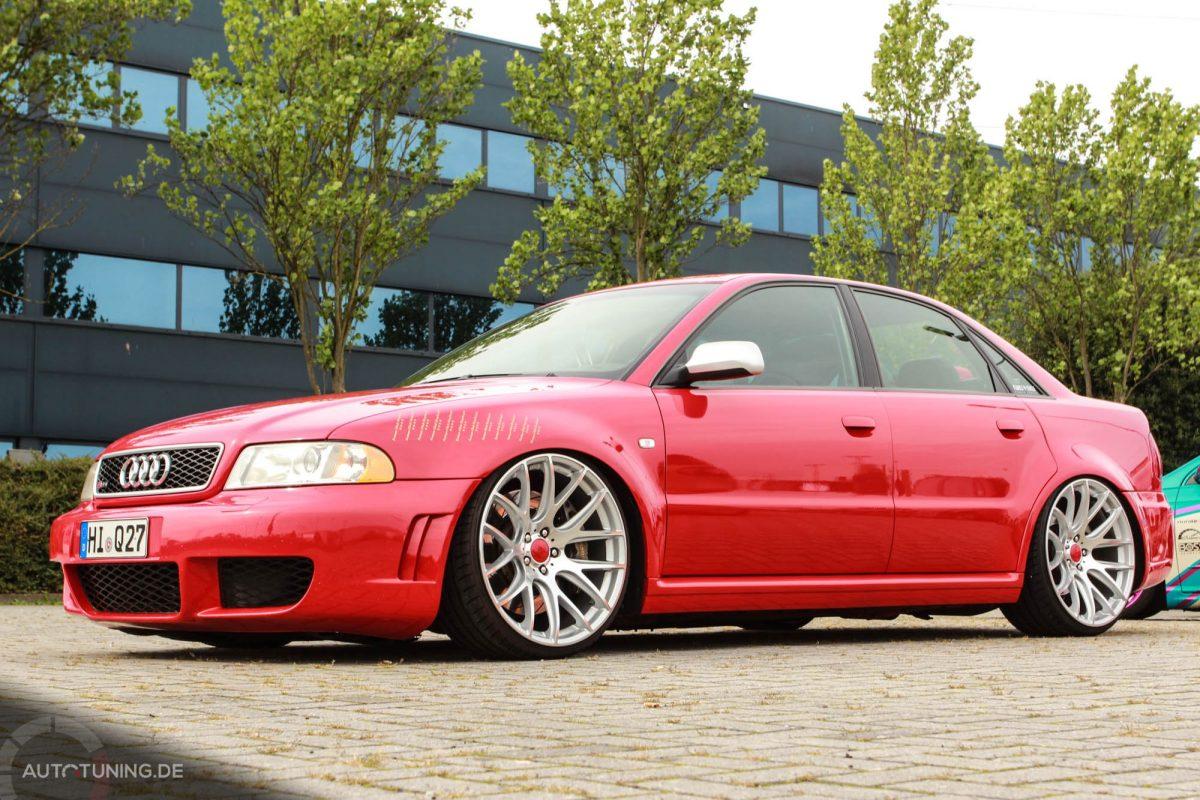 Audi S4 Das Rote Monster Vom Saunaclub
