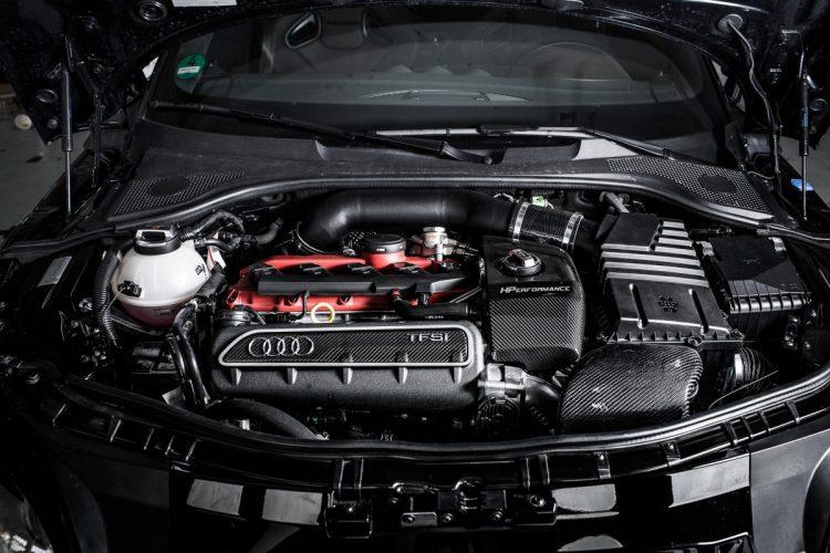 Operation am offenen Herzen: Das Fünfzylinder-Triebwerk des Audi TT RS Clubsport.